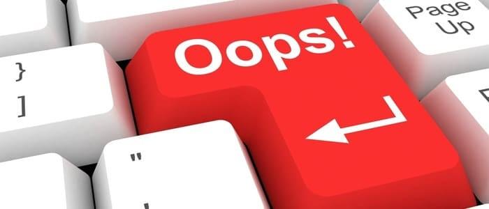 Częste błędy przy projektowanie stron WWW