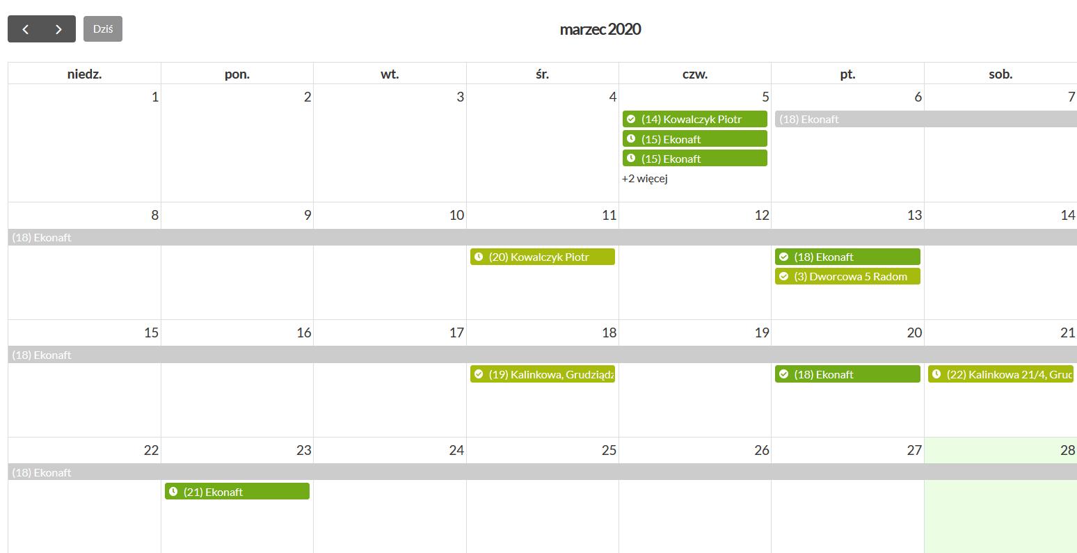 Kalendarz Waste 24